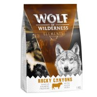 "1 kg Wolf of Wilderness ""Rocky Canyons"" - Okse"