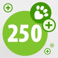 Donate your zooPoints and help a pet in need: 250 zooPoints