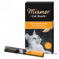 6 x 15g Miamor Cat Snack Multi-Vitamin Cream