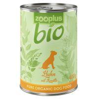 zooplus Bio Pui bio cu morcov, 400 g