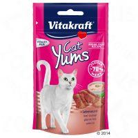 40 g Vitakraft Cat Yums kattesnacks - Leverpølse