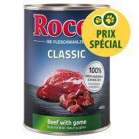 Rocco Classic bœuf, gibier 1 x 400 g pour chien