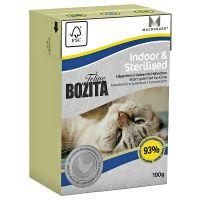 190 g Bozita Feline kattevådfoder - Indoor & Sterilised