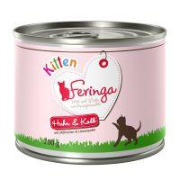 Feringa Menu Kitten - piščanec & teletina 6 x 200 g