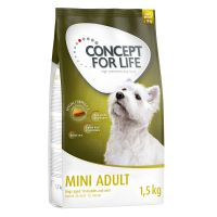 1.5kg Concept for Life Mini Adult Dry Dog Food