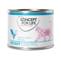 6 x 200 g Concept for Life Veterinary Diet Weight Control