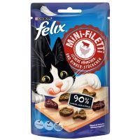 Felix Mini Filetti pour chat - poulet, bœuf (40 g)