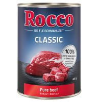 6 x 400 g Rocco Classic Rind pur