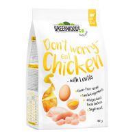Greenwoods kuře s čočkou, bramborami a vejcem - 400 g