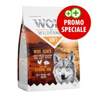 "Wolf of Wilderness ""Soft - Wide Acres"" Pollo (350 g)"