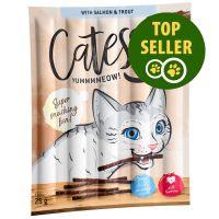 10 x 5 g Catessy Sticks - Laks & Ørred