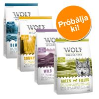 Wolf of Wilderness vegyes csomag: szarvas, lazac, bárány, kacsa - 4 x 1 kg