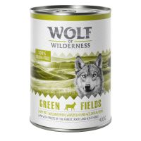 Wolf of Wilderness, Green Fields, agneau - 6 x 400 g