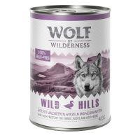 Wolf of Wilderness Wild Hills, canard 400 g pour chien