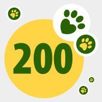 Adományozzon zooPontokat: 200 pont
