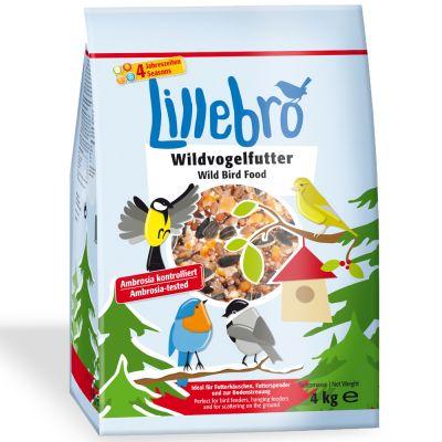 Nourriture pour oiseaux sauvages Lillebro, 4 kg