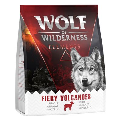 Wolf of Wilderness Elements Fiery Volcanoes agneau 300 g pour chien