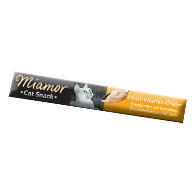 6 x 15g Miamor Cat Snack Multi-Vitamin Cream