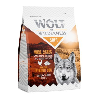Wolf of Wilderness 'Soft - Wide Acres' - csirke 350 g
