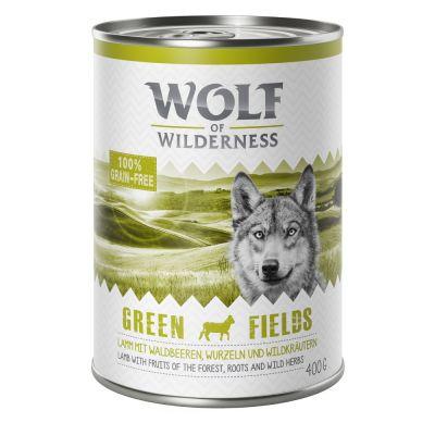 Wolf of Wilderness, Green Fields, agneau - 6 x 400 g