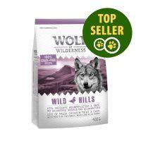 """400 g Wolf of Wilderness """"Wild Hills"""" - met Eend"""