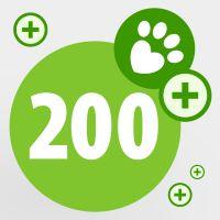Donirajte zooTočke za zavetišče: 200 točk