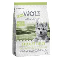 Little Wolf of Wilderness Junior - Green Fields - jagnjetina 1 kg