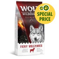 300g Wolf of Wilderness Adult Fiery Volcanoes - Lamb