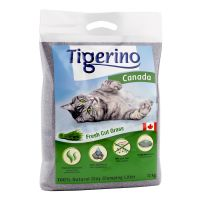 12 kg Tigerino Canada kattegrus - Fresh Cut Grass