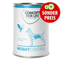 6 x 400 g Concept for Life Veterinary Diet Weight Control