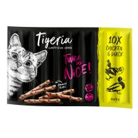 Tigeria Sticks Pui & rață 10 x 5 g