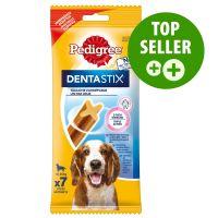 Pedigree Dentastix közepes termetű kutyáknak - 7 db