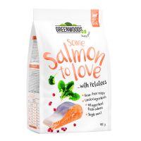Greenwoods saumon, pommes de terre, épinards, canneberges 400 g