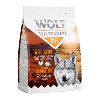 "Wolf of Wilderness ""Soft - Wide Acres"" - Pui 350 g"