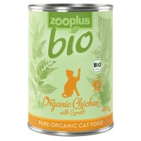 zooplus Bio csirke & sárgarépa 1 x 400 g