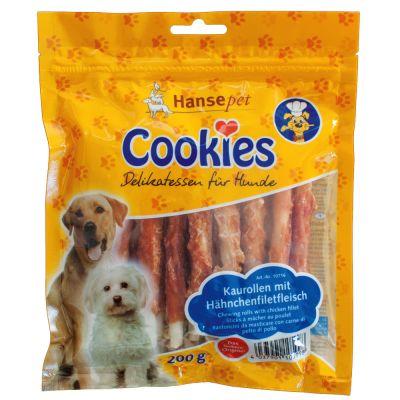 Cookie's Delikatess rágótekercs csirkefilé-csíkokkal - 200 g