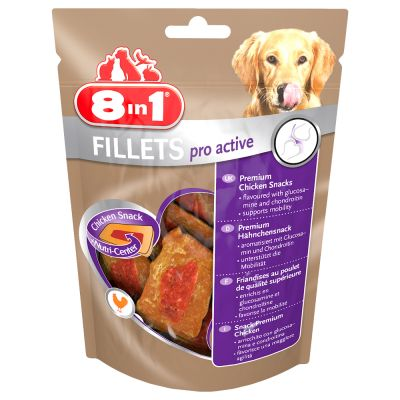 80g 8in1 Fillets Pro Active - Chicken
