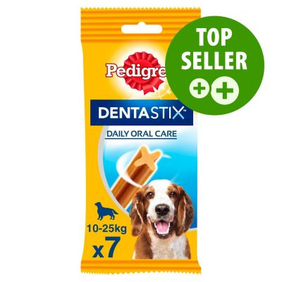 7 Pedigree Dentastix for Medium Dogs