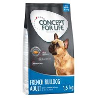 1,5 kg Concept for Life Französische Bulldogge Adult