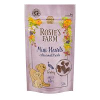 "Rosie's Farm Puppy Snacks ""Mini Hearts"" krůtí - 50 g"