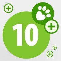 Don de 10 points pour aider les animaux