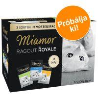 Miamor Ragout Royale vegyes próbacsomag 12x100 g - Multimix fajták szószban