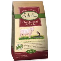 1.5kg Lukullus Dog Food - Charolais Beef & Trout