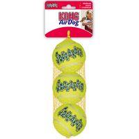 3 x KONG Tennisbälle mit Quietschie