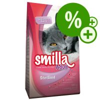 Smilla Adult Sterilised 300g pour chat