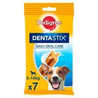 7 Stück (110 g) Pedigree Dentastix Tägliche Zahnpflege, für kleine Hunde (5-10 kg)