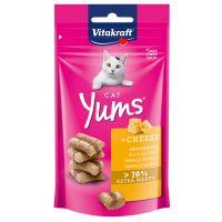 40 g Vitakraft Cat Yums snacks de queijo