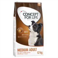 1,5 kg Concept for Life Medium Adult hundefoder