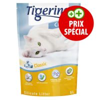 Litière Tigerino Crystals 5 L pour chat