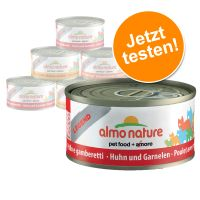 6 x 70 g Almo Nature Probierpakete Huhnauswahl